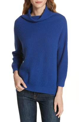 Autumn Cashmere Funnel Neck Cashmere Sweater