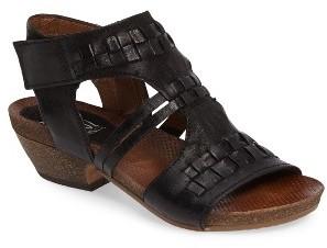 Women's Miz Mooz Calico Strappy Cutout Sandal $159.95 thestylecure.com