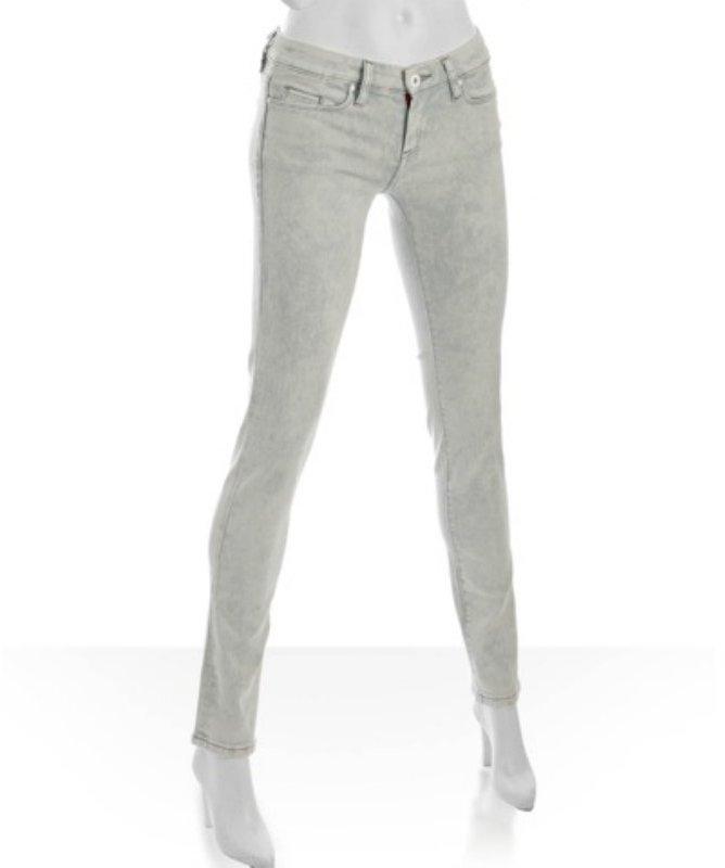 Blank NYC 'blue eyes' stretch 'acid wash' skinny leg jeans