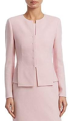 Akris Women's Ocello Wool Crepe Jacket