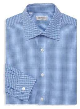 Charvet Classic Fit Gingham Check Dress Shirt