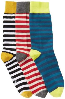 Richer Poorer Theo Crew Socks - Pack of 3