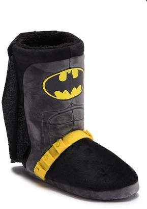 Batman Faux Fur Lined Slipper Boot