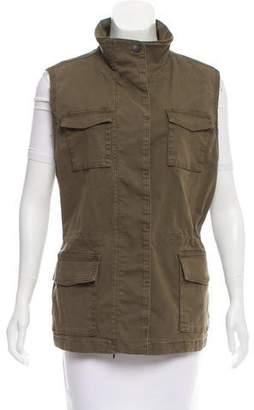 J Brand Distressed Trooper Vest