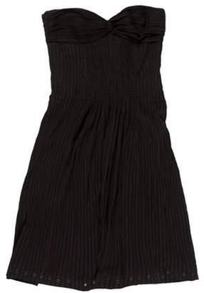 Isabel Marant Ãtoile Studded Strapless Dress Black Ãtoile Studded Strapless Dress