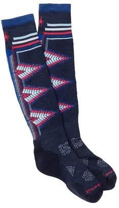 Smartwool PhD Ski Light Patterned Knee High Socks