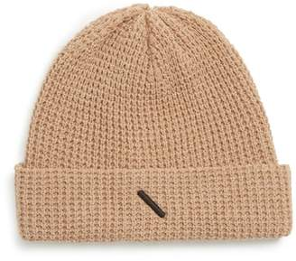 Saturdays NYC Waffle Crepe Cotton & Merino Wool Beanie