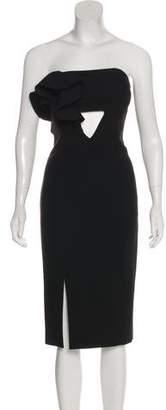 Nicholas Strapless Mini Dress