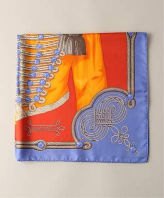 "Hermes (エルメス) - WORLDLY-WISE 【VINTAGE HERMES / エルメス】 ""Brandebourgs"" Silk Scarf 90 / カレ・スカーフ"
