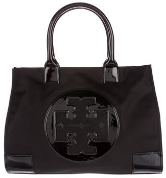 Tory Burch Tory Burch Leather-Trimmed Ella Tote w/ Tags
