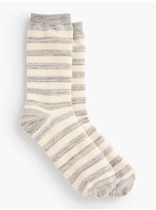 Talbots Space-Dye Trouser Sock