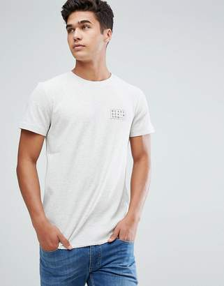 Tom Tailor T-Shirt With Chest Print In White