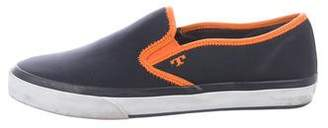 Tory Burch Nylon Slip-On Sneakers