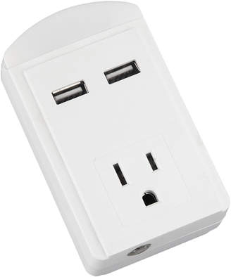 Gabbagoods Two-USB Port Outlet Surge Protector