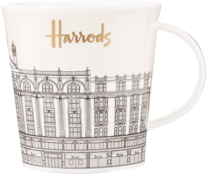 Harrods Illustrated Building Mug