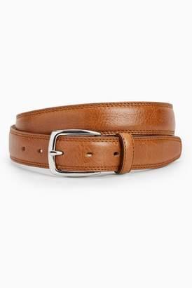 Next Mens Tan Signature Italian Leather Belt