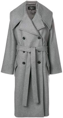 Rochas belted double-breasted coat