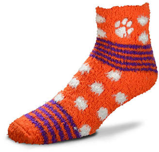 For Bare Feet Clemson Tigers Homegater Sleep Soft Socks