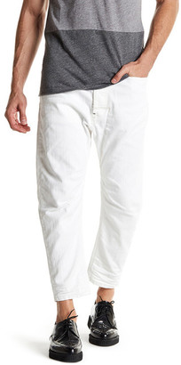 Diesel Narrot Two-Tone Carrot Jean $298 thestylecure.com