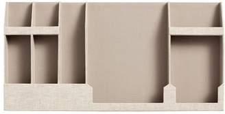 Pottery Barn Teen Fabric Wall Organizer, Double, Linen