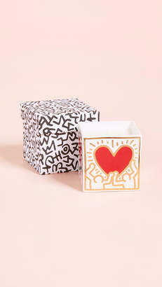 Keith Haring Ligne Blanche x Heart Square Candle