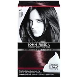 John Frieda Precision Foam Colour 4R Dark Red Brown (2 Pack)