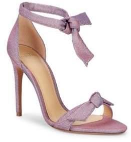 Alexandre Birman Clarita Metallic Stiletto Sandals