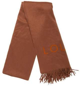 Louis Vuitton Cashmere Blanket Scarf