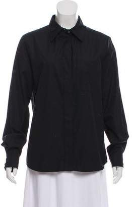 Lanvin Button-Up Top w/ Tags