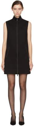 DSQUARED2 Black Zip Front Dress
