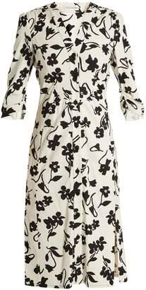 Altuzarra Aimee floral-print crepe-cady shirtdress