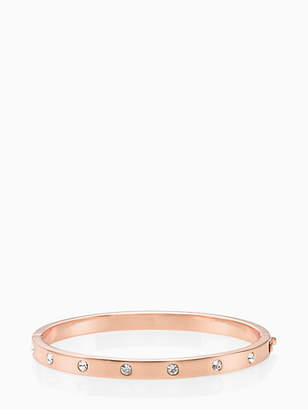 Kate Spade Set in stone stone hinged bangle