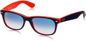 Ray-Ban RB_2132_614585 Wayfarer Sunglasses, Brown, 52-18-145