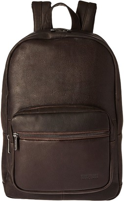 Kenneth Cole Reaction Ahead of the Pack - Leather Backpack $400 thestylecure.com
