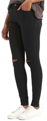Women's Topshop Moto Leigh Ripped Skinny Jeans $70 thestylecure.com