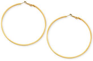 GUESS Earrings, Large Hoop Earrings