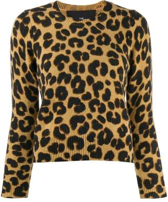 Marc Jacobs leopard knitted top
