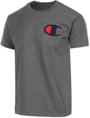 Champion Men's Logo T-Shirt $20 thestylecure.com