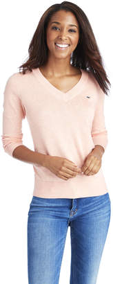Vineyard Vines Heritage Cotton V-Neck Sweater