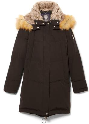 Vince Camuto Detachable Hood Down Coat