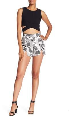 Do & Be Do + Be Geometric Woven Shorts