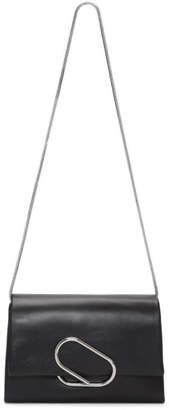 3.1 Phillip Lim Black Soft Flap Clutch Bag