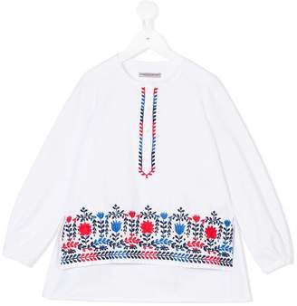 Ermanno Scervino floral embroidered tunic
