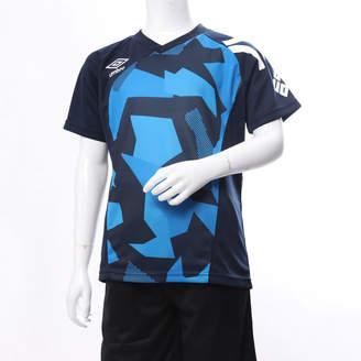 Umbro (アンブロ) - アンブロ UMBRO ジュニア サッカー フットサル 半袖 シャツ JRプラクテシィスシャツ UUJLJA60AP
