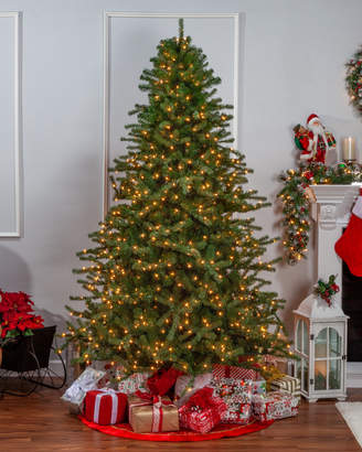 Sterling Tree Company 7.5Ft Layered Norfolk Pine Pre-Lit Tree