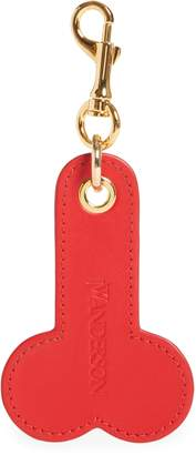 J.W.Anderson Logo Embossed Leather Bag Charm
