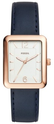 Women's Fossil Atwater Leather Strap Watch, 28Mm $125 thestylecure.com