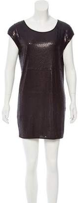 BCBGMAXAZRIA Sequined Mini Dress