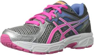 Asics Gel - Contend 2 Grey Pink Youths Trainers Size 39 EU