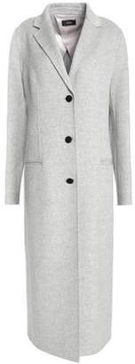 Joseph Mélange Brushed Wool And Silk-Blend Coat